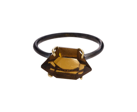Cognac Quartz Ring - TWISTonline