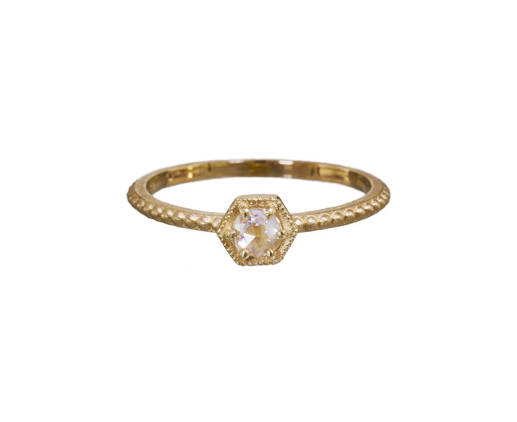 Hexagon Solitaire Ring - TWISTonline