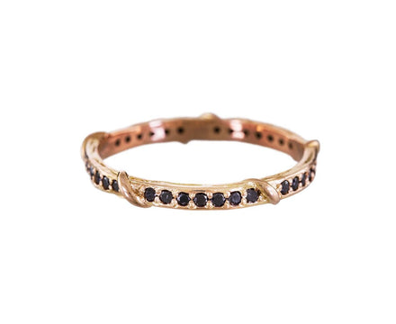 Black Diamond Eternity Vine Ring - TWISTonline