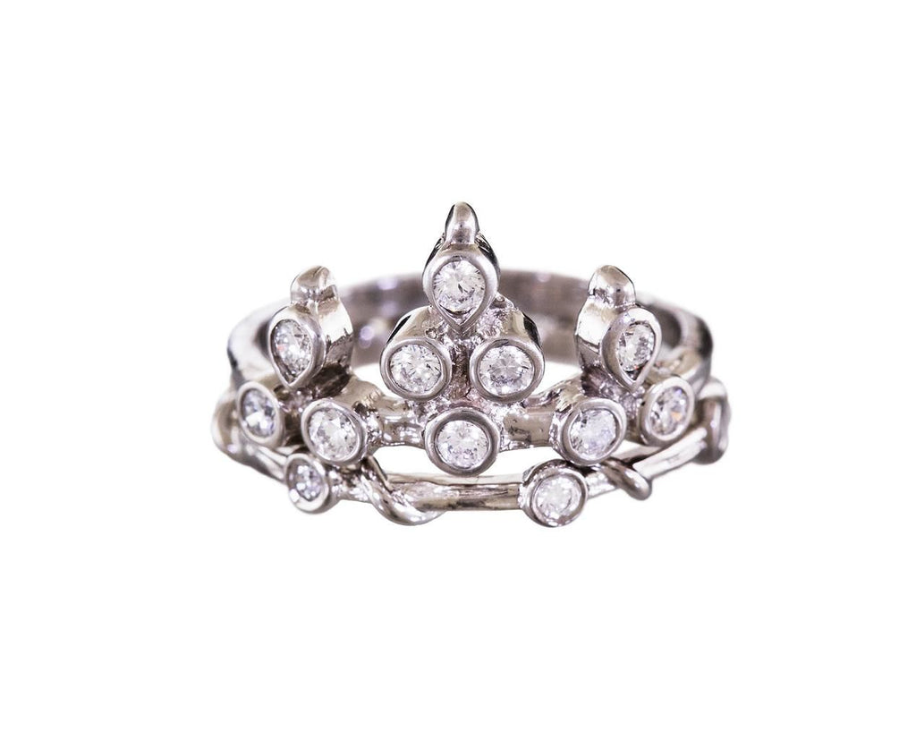Platinum Belgian Diamond Tiara Ring - TWISTonline