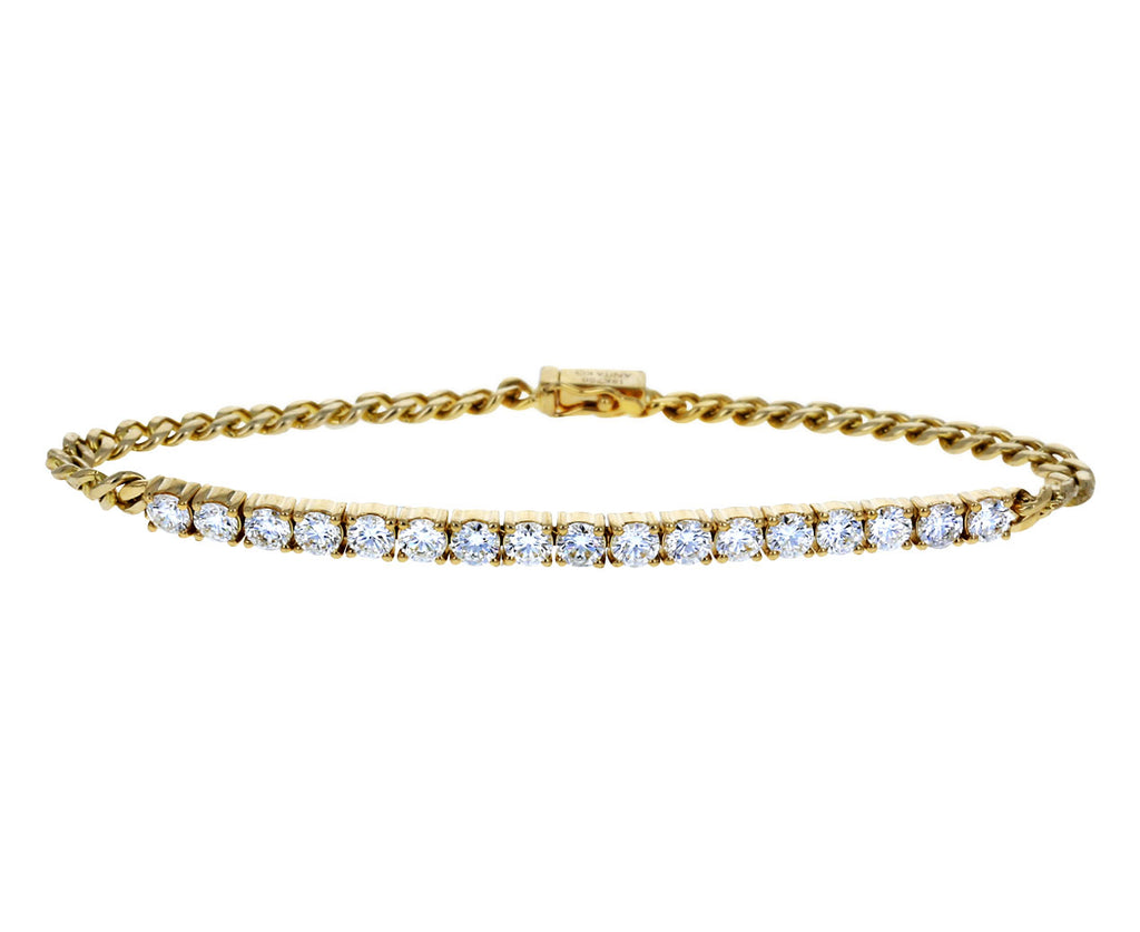 Diamond Cuban Link Chain Bracelet - TWISTonline