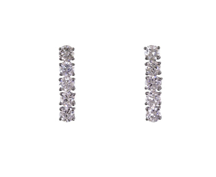 Diamond Drop Earrings - TWISTonline