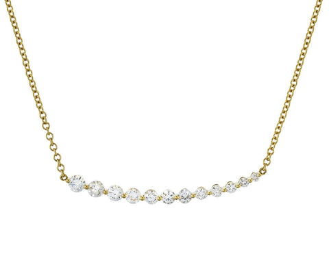 Graduated Diamond Necklace - TWISTonline