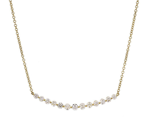 Diamond Crescent Necklace - TWISTonline