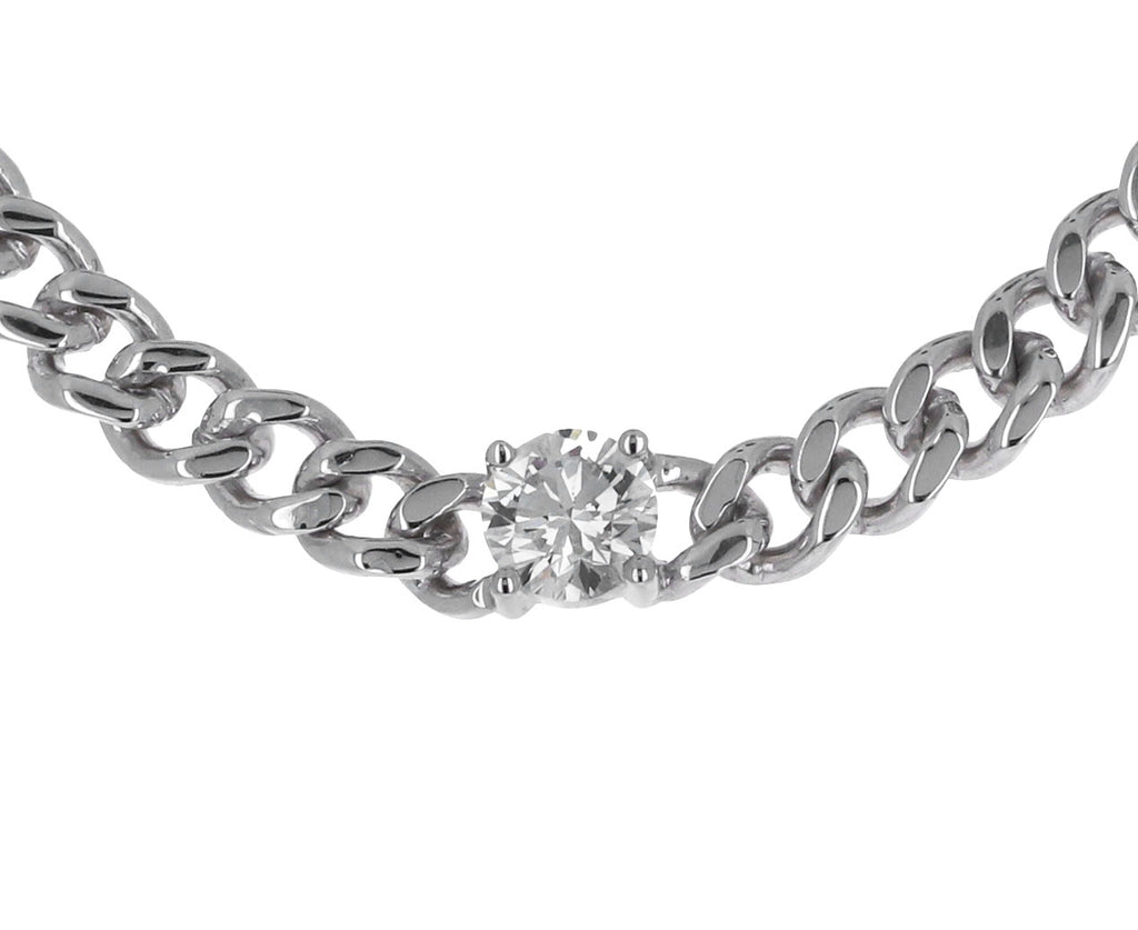 Anita Ko Cuban Link Diamond Chain Necklace