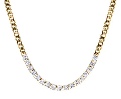 Diamond Cuban Link Chain Necklace