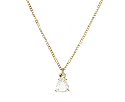 Pear Shaped Diamond Necklace - TWISTonline