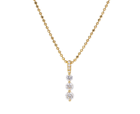 Small Diamond Twiggy Necklace - TWISTonline