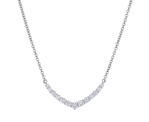 Diamond 'V' Necklace - TWISTonline