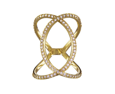 Diamond Infinity Ring - TWISTonline