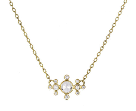 Rose Cut Diamond Chine Necklace - TWISTonline