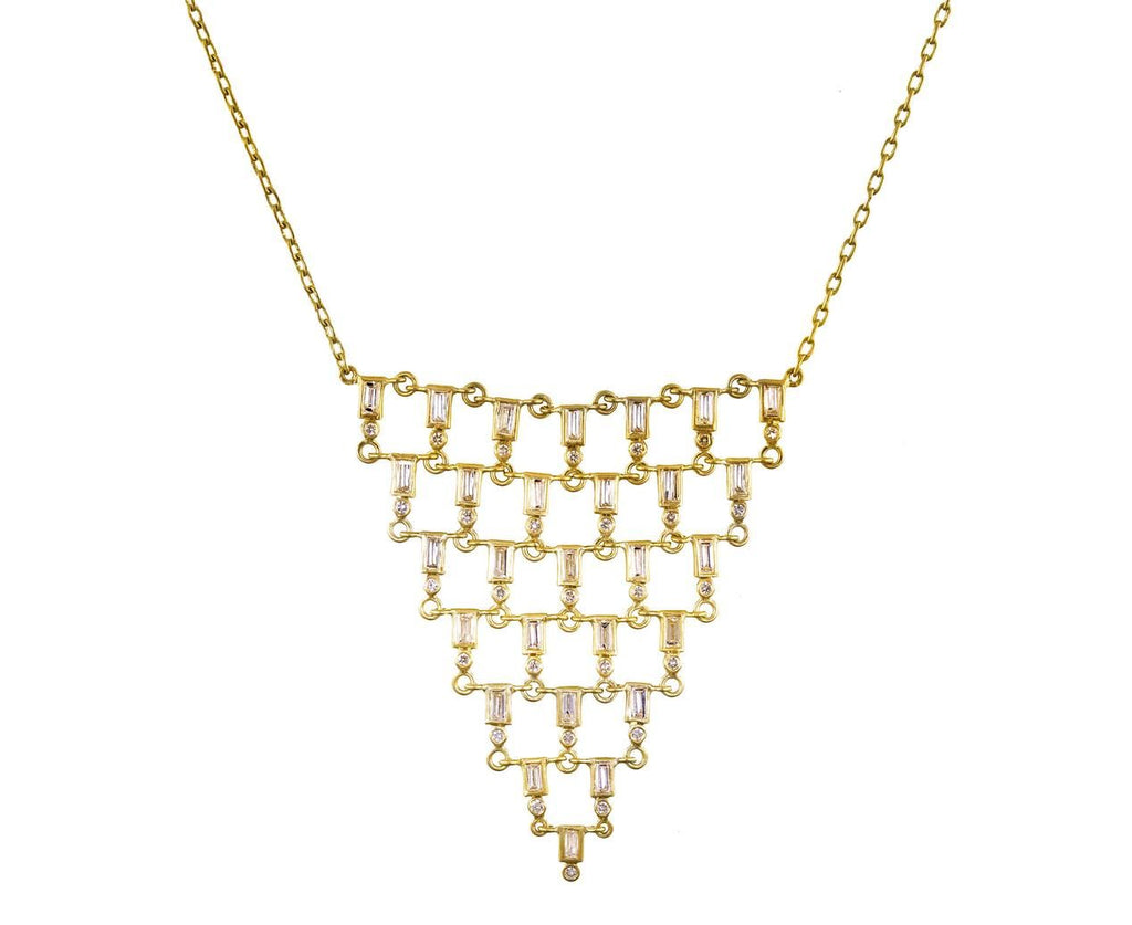 Diamond Inverted Pyramid Necklace - TWISTonline