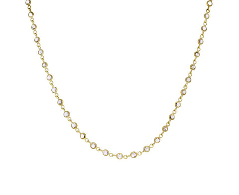 Rosecut Diamond Infinity Necklace