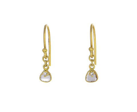 Polki Diamond Flutter Earrings