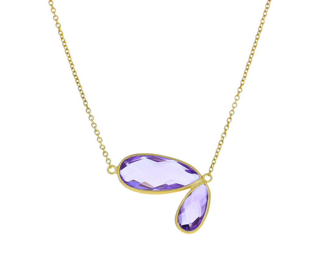 Amethyst Fly Wing Necklace - TWISTonline