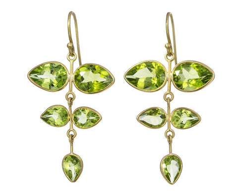 Aspen Peridot Chandelier Earrings - TWISTonline