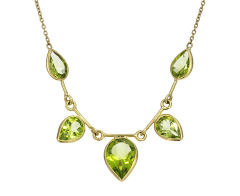 Peridot Aspen Necklace - TWISTonline