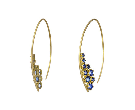 Blue Sapphire Nebula Earrings - TWISTonline