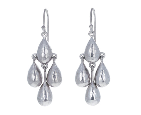Silver Sleet Earrings