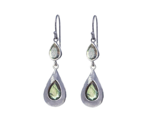 Labradorite Rainfall Earrings - TWISTonline