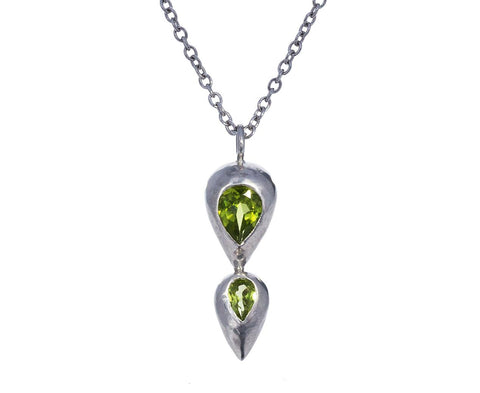Peridot Spray Necklace - TWISTonline