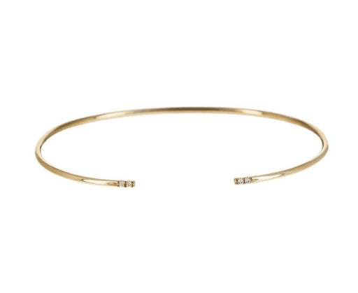 Mini Diamond Equilibrium Cuff Bracelet - TWISTonline