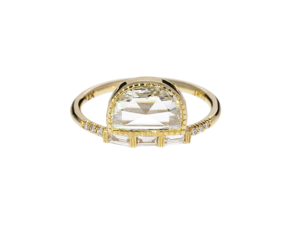 Half Moon Diamond Solitaire with Baguettes zoom 1_jennie_kwon_gold_diamond_half_moon_ring