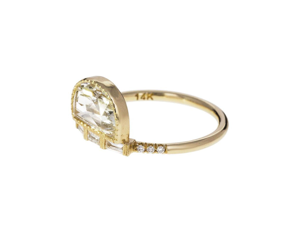 Half Moon Diamond Solitaire with Baguettes zoom 2_jennie_kwon_gold_diamond_half_moon_ring