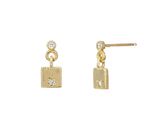 Diamond Mirror Earrings - TWISTonline