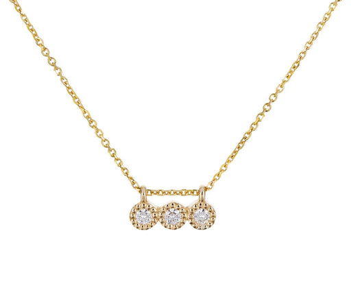 Triple Diamond Pendant Necklace - TWISTonline