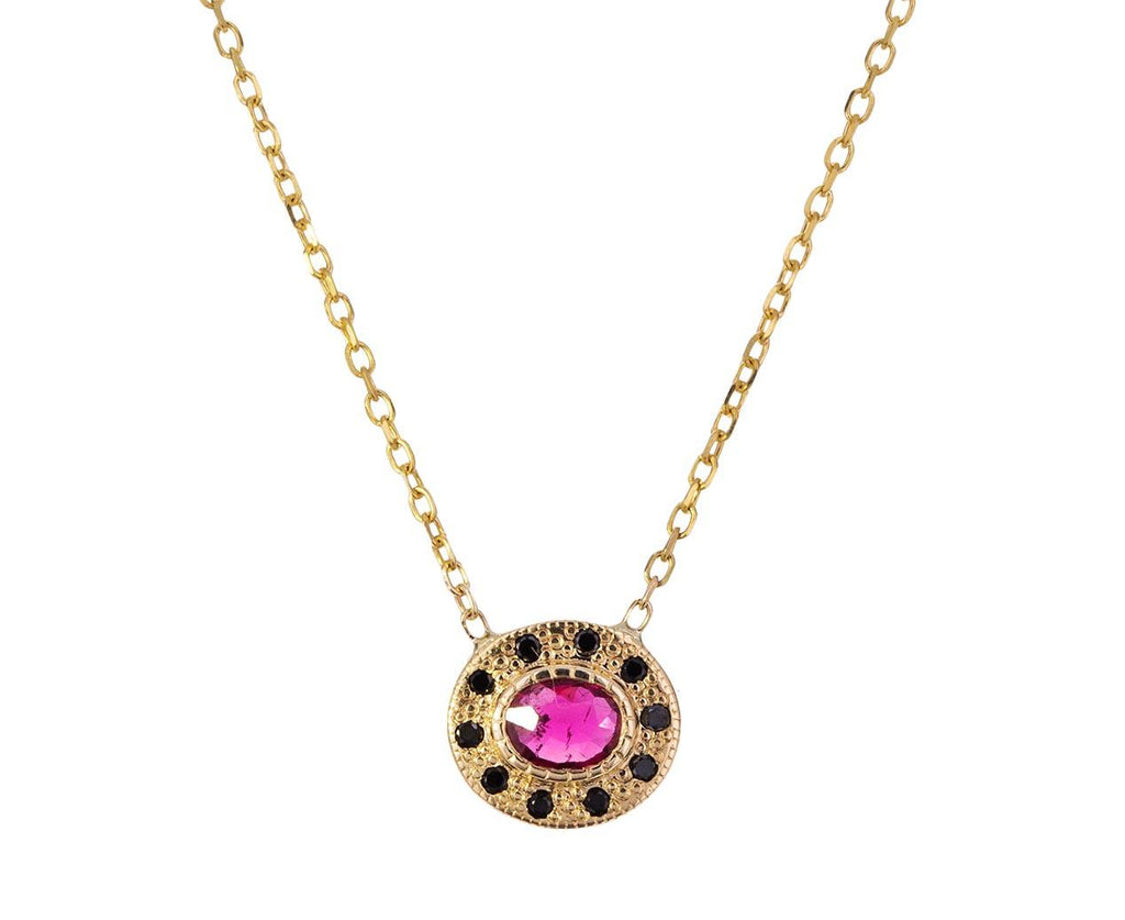 Ruby Halo Necklace - TWISTonline