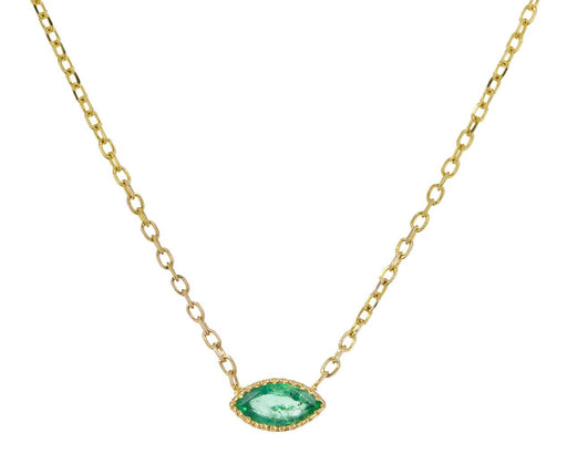 Emerald Marquise Necklace - TWISTonline
