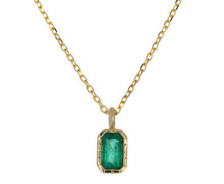Emerald Whisper Necklace