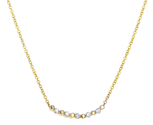 Diamond Pizzicato Necklace