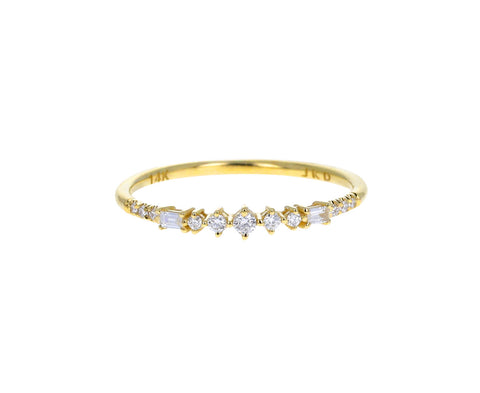 Baguette Diamond Prelude Ring