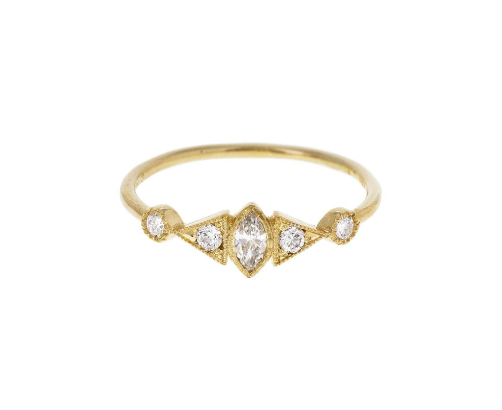 Diamond Marquise Deco Ring - TWISTonline