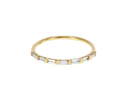 Half Eternity Diamond Baguette Ring - TWISTonline