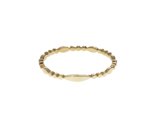 Gold Marquise Beaded Band - TWISTonline