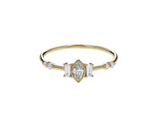 Diamond Marquise Solo Ring - TWISTonline