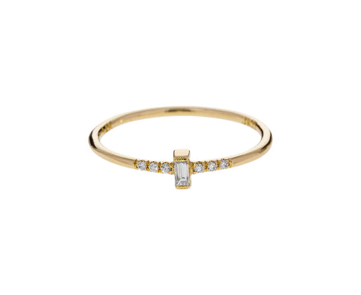 Baguette Diamond Equilibrium Ring - TWISTonline