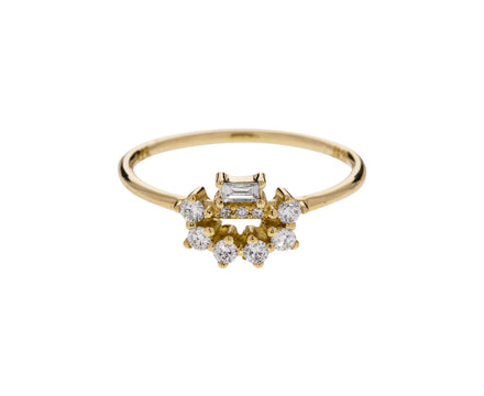 Diamond Baguette Arch Ring - TWISTonline