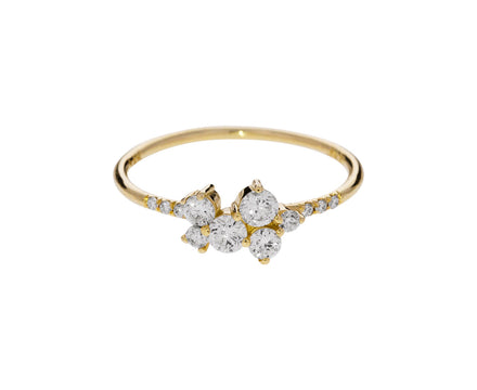Diamond Bubble Equilibrium Ring - TWISTonline