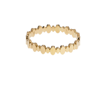 Gold Eternal Oval Band - TWISTonline