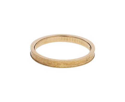 Gold Milgrain Band - TWISTonline