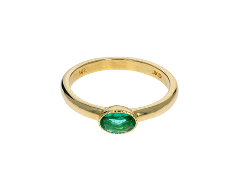 Emerald Chubby Ring - TWISTonline