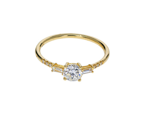Diamond Melody Equilibrium Ring