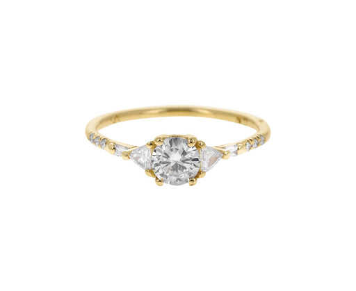 Mixed Diamond Equilibrium Ring