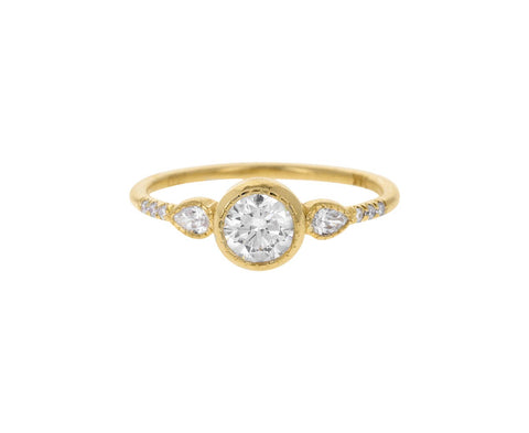 Diamond Equilibrium Ring