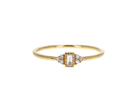 Diamond Cluster Whisper Ring