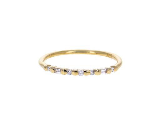 Diamond Pizzicato Ring